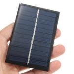 Оригинал 2PCS 6V 100mA 0.6W Поликристаллическая мини-эпоксидная Солнечная Панель фотоэлектрических панелей