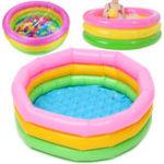 Оригинал Large Premium Baby Swimming Бассейн Inflatable Kid Бассейн На открытом воздухе Living Бассейн Надувной плавательный опрос