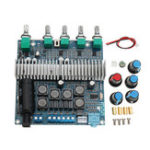 Оригинал TPA3116 Bluetooth 4.2 Усилитель Board High Power 2.1 Subwoofer Digital Усилитель Board 12-24V 50W + 50W + 100W 3-канальный выход