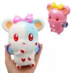 Оригинал Cute Rabbit Squishy 13.6 * 9.8 * 8.4CM Медленный Rising Collection Gift Soft Игрушка