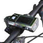 Оригинал XANESBL02300LMXPELED4 режима USB / Солнечная Зарядка переднего фонаря велосипеда с 140-битным твитером