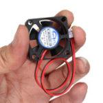 Оригинал BIQU 2Pcs 3010s 30 * 30 * 10 мм 12V 2Pin DC Cooler Маленький охлаждающий вентилятор для 3D-принтера