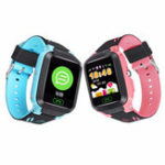 Оригинал Bakeey Y81 1.4inch Сенсорный экран Дети Дети IP67 SOS Call GPS LBS Location Tracker Smart Watch