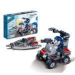 Оригинал BanBao Blocks Toys Scout Авто Обучающие строительные игрушки из кирпича