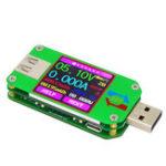 Оригинал UM 24 Тестер USB 2.0 Амперметр Вольтметр Кулонометр Мощность Мобильный блок питания USB-тестер
