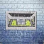 Оригинал ARILUX® 10W Солнечная Мощность 66 COB LED Водонепроницаемы PIR Motion Датчик Свет На открытом воздухе Широкоугольная стена Лампа