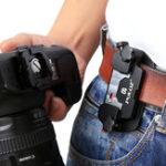 Оригинал PULUZ PU231 Захват камера Клип Алюминиевый сплав Quick Release Clip с Пластина