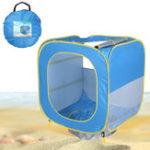 Оригинал BabyПляжныйPalyTentPopUp Kids Portable Shade Бассейн Для детей Защита от ультрафиолетового излучения Sun Shelter