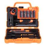 Оригинал JAKEMY JM-8139 45 в 1 Профессиональная электронная точность Отвертка Комплект домашнего ремонта Инструмент комплект