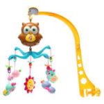 Оригинал Baby Mobile Crib Melodies Song Bed Bell Kid Игрушка Электрическая музыка Коробка Любовь Soft Colorful Плюшевые игрушки для кукол