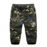 Оригинал Men's Outdoor Camo Loose Cropped Trousers