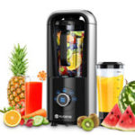 Оригинал AUGIENB Vacuum Blender BPA-Free Antioxidation Function Smoothie Maker For Ice Fruits Shakes With Recipebook Vacuum Cup 750W 1500ml