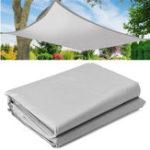 Оригинал 4×4/6/8MSun Shade Sail На открытом воздухе Сад Patio UV Proof Thewning Canopy Водонепроницаемы Крышка экрана