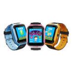 Оригинал Bakeey 1.44 дюймовый сенсорный экран SOS GPS LBS LocationTracker фонарик шагомер Дети Smart Watch