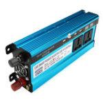 Оригинал 4000W Peak Power Inverter LED Дисплей 12V / 24V DC to 220V AC Двойные экраны Модифицированный инвертор синусоидальной волны