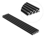 Оригинал Machifit 500 мм 2080 V-образный алюминиевый профиль для экструзии DIY CNC Инструмент Черный