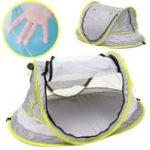 Оригинал PopUpPortableПляжныйТентKids Canopy Sun Shade Shelter Складная Anti-UV Baby Travel Bed