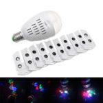 Оригинал ARILUX® 3W E27 RGBW 10 Шаблоны Проектор LED Студийная лампа для рождественской вечеринки AC110-240V