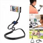 Оригинал Haweel 4 in 1 Шея Подвесная подставка для талии Selfie Палка Вращение на 360 градусов Леновый держатель для сотового телефона