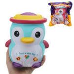 Оригинал JJC_SS Squishy Jumbo 18см Happy Penguin Kawaii Soft Медленный Восходящий Игрушечный Подарок с Оригинальным Пакетом