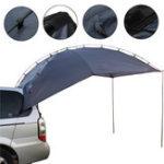 Оригинал НаоткрытомвоздухеКемпинг4People SUV Shelter Truck Авто Трейлерная палатка Водонепроницаемы УФ-тент Sunshade
