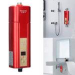 Оригинал BOLAIKE Mini Мгновенная электрическая горячая вода без воды Нагреватель System Tap Faucet
