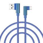 Оригинал Bakeey 90 градусов 2.4A Micro USB 1M Быстрая зарядка кабеля для Samsung Xiaomi Huawei