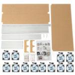 Оригинал V3 Горная рама Алюминиевый сплав Металл RPi Shell Чехол Коробка для Raspberry Pi 3 2 Модель B & B +
