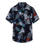 Оригинал ГавайиЦветочныеБольшиеPlusРазмерДосуг Праздник Пляжный Рубашки для