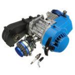 Оригинал 49CC 2 Ход Двигатель Мотор W / CARB Воздушный фильтр Gear Коробка Mini Dirt Bike Quad ATV
