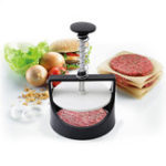 Оригинал ПластмассовыйпрессдлябельяBurgerSlider Patty Mold из нержавеющей стали Meat Press Maker Кулинария Инструмент Food Grade Kitchen Meat Набор Гамбургер