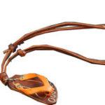 Оригинал Натуральная Кожа Флип-флоп На открытом воздухе Пляжный Ожерелье