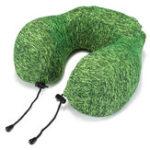 Оригинал HonanaУтолщеннаязеленаяМедленнаявсплескпамяти памяти Шея Защита U Подушка для подушки безопасности Сумка Подушка для путеш