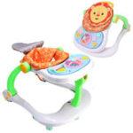 Оригинал 4 в 1 Складная детская одежда для детей Baby Walkers Kids Educational Toy Walk Инструмент