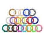 Оригинал 20 цветов / упаковка 5/10 м Длина за цвет ABS 3D-печать Ручка Нить для 1,75 мм 0,4 мм сопла