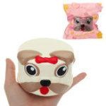 Оригинал Собака Голова Squishy 9 * 6CM медленно растет с подарком коллекции упаковки Soft Toy