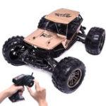 Оригинал 8822G1/122.4G2WDRacingRc Авто 43 км / ч 32 * 26 * 12 см Внедорожный скальный гусеничный экскаватор с игрушкой из сплава Shell