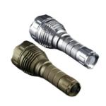 Оригинал ПесокСеребристыйЦветConvoyL2XPLHI 1100LM 4Modes Steppess Dimming Tactical LED Фонарик с 2 трубами
