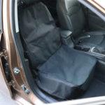 Оригинал ЧерныйАвтоКопилотSeatОксфордТкань Non Slip Pet Мат Travel Seat Собака Protector Автоrier Подушка Pad