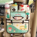 Оригинал Cartoon Car Seat Storage Сумка Universal Водонепроницаемы Детская коляска Сумка Органайзер Детская коляска для хранения багажа Аксессуары для прогулочн