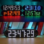 Оригинал Geekcreit® DS3231 High Accuracy Multifunction LED Эффекты для матричной анимации точек Часы DIY Набор