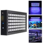 Оригинал 60W Dimmable 60 LED Full Spectrum Grow Light Fish Tank Аквариум Лампа AC85-265V