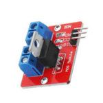 Оригинал 0-24V Верхняя кнопка Mosfet IRF520 MOS Модуль драйвера для Arduino MCU ARM Raspberry Pi
