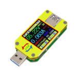 Оригинал RUIDENG UM34 / UM34C Android APP USB Color Tester Измерение напряжения и тока Type-C Meter