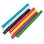 Оригинал 10Pcs 7mmx100mm Colorful Горячий расплавленный клей Палка Colorant DIY Crafts Repair Model Adhesive Палкаs