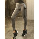 Оригинал Женское Высокий эластичный лоскут для талии Бег Yoga Леггинсы