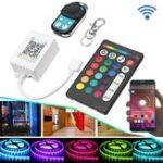 Оригинал DC5-24V Bluetooth APP Дистанционное Управление Контроллер Набор для RGB RGBW LED Полосатый свет