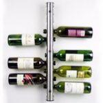 Оригинал Mental 12 Hole Wine Water Bottle Holder Настенный винный шкаф Стенд для кухни Стойка для кухни