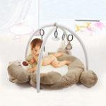 Оригинал Складной музыкальный Baby Bear Playmat Дети Soft Спортзал Деятельность Floor Mat Toddlers Baby Play Bat