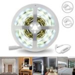 Оригинал 5M 12W SMD2835 Белый 1400-1500LM Dimmable LED Макияж зеркальная лента Набор AC110-240V